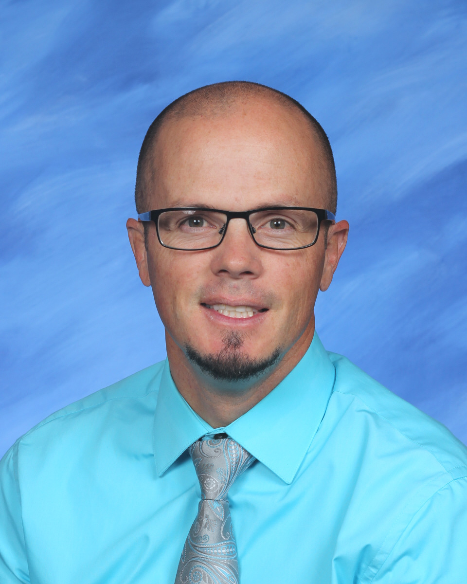 Picture of Afton Elementary Principal, Danny Robinson